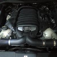 Ремонт двигателя Порше Кайен 4.8 турбо