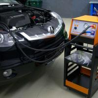 Промывка инжектора в автомастерской Tadikars